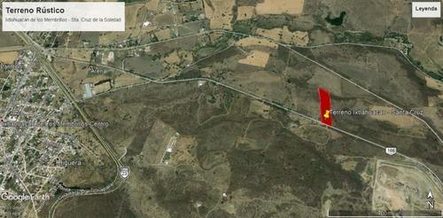 terreno carretera ixtlahuacán de los membrillos a santa cruz de la soledad