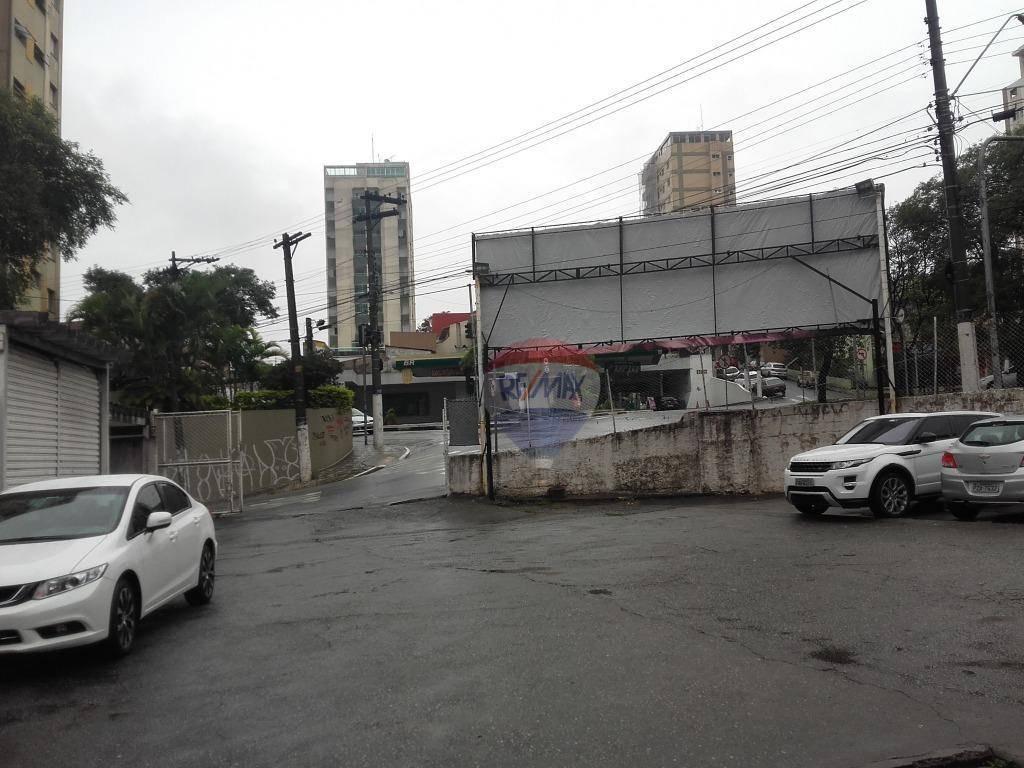 terreno centro, esquina avenida vergueiro  são bernardo do campo, 800 metro quadrados,,para fins  comercial, prédio,loja, galpão - te0104