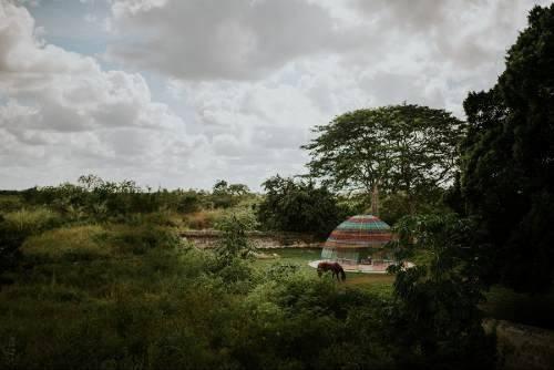 terreno cerca de izamal, carrretera izamal-tunkas km. 21