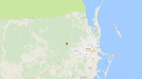 terreno cerca del mar, para desarrollar en cancun