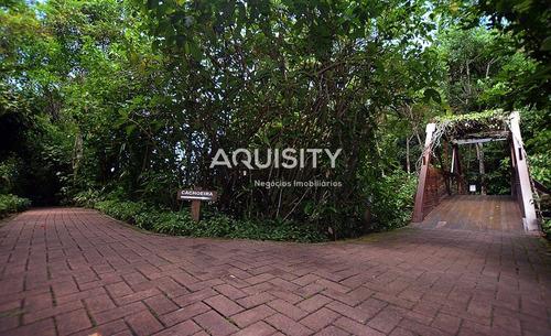 terreno com 1240m2, bem localizado e com vista para o mar à venda no condomínio iporanga guarujá. - te00003 - 4957216