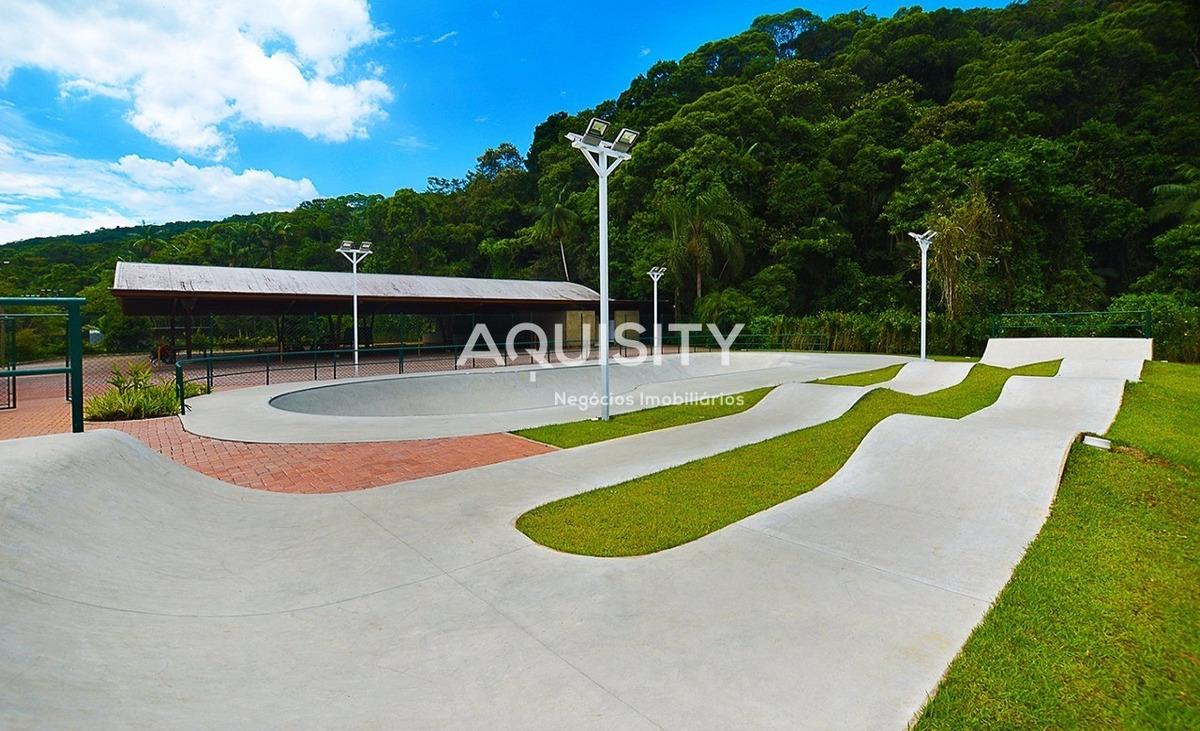 terreno com 1240m2 à venda no condomínio em iporanga guarujá. - te00004 - 32142844