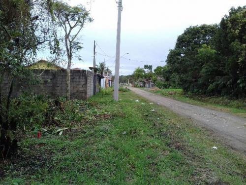 terreno com 125 m²  e escritura em itanhaém-sp - ref 3185-p