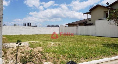 terreno com 250 m² no condomínio campos do conde 1 - tremembé/sp - te0962