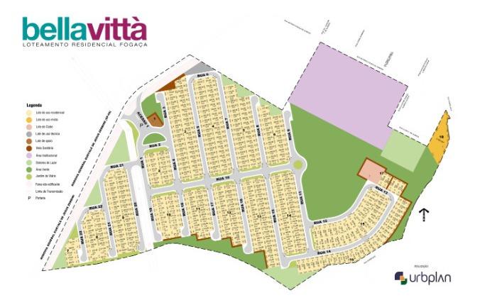 terreno com 250 m²- residencial fogaça, bella vittá, jacareí