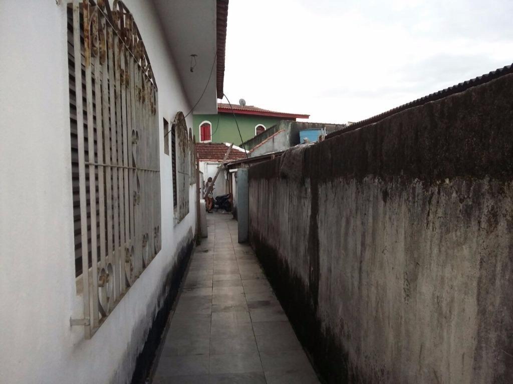 terreno com 3 casas - santa rosa - guarujá - ca0077