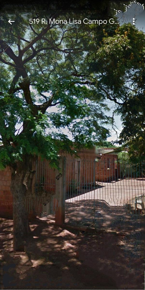 terreno com 3 casas sendo 1 casa a terminar