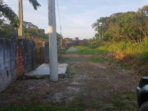 terreno com 312 m² em itanhaém, aceita parcelar! ref 4169-p