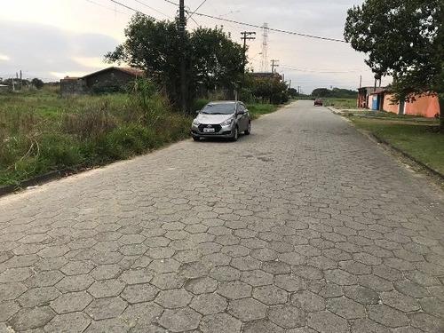 terreno com 337 m² em itanhaém-sp - ref 4699-p