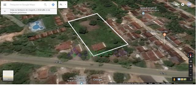 terreno com 4.000 m² próximo à fiat/jeep em goiana - pe - 1415