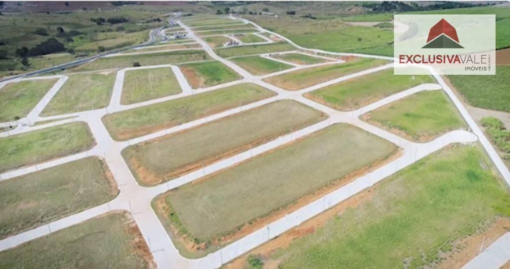 terreno com 500 m² no condomínio ecopark - caçapava - te0127
