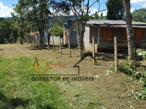 terreno com casa simples em juquitiba
