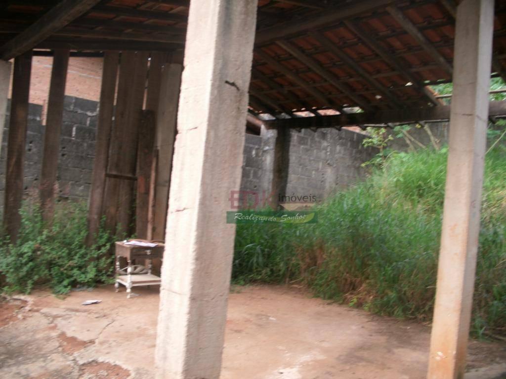 terreno com casa à venda, chácara são silvestre, taubaté. - te0479