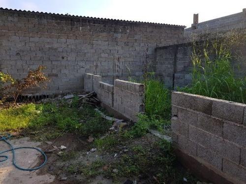 terreno com construção iniciada em itanhaém, litoral sul!!!