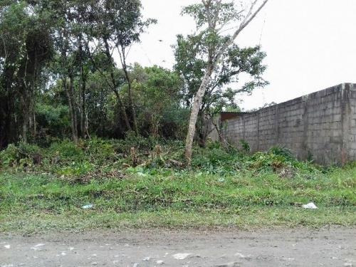 terreno com escritura e 125 m² em itanhaém - ref 3185-p