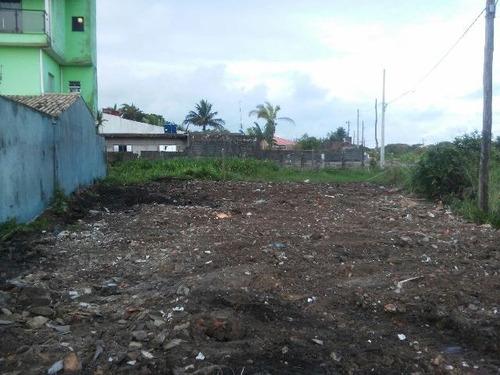terreno com escritura e 250 m² em itanhaém - ref 4227-p