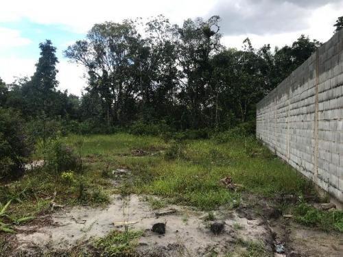 terreno com escritura e 250 m² em itanhaém-sp - ref 3637-p