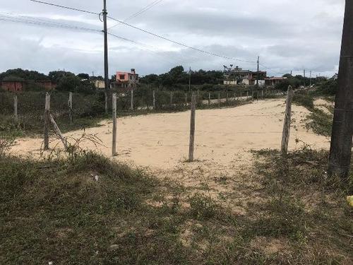 terreno com escritura e 280 m² no lado praia - ref 4538-p