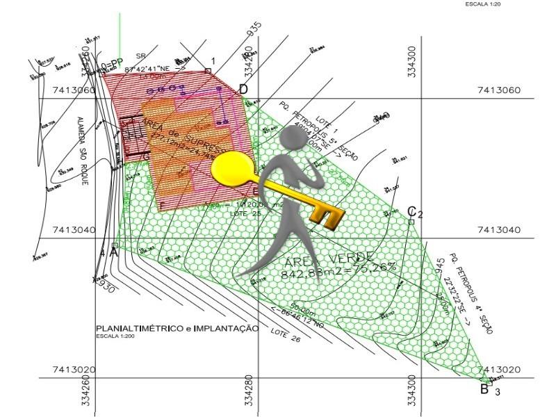 terreno com projeto aprovado á venda na serra da cantareira. agende sua visita! - 1240 - 32145335