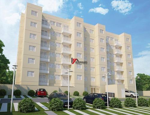 terreno com projeto aprovado p/apartamento  residencial à venda, jardim colonial, atibaia. - ap0150