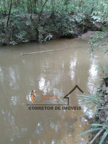 terreno com riacho em otima regiao de juquitiba
