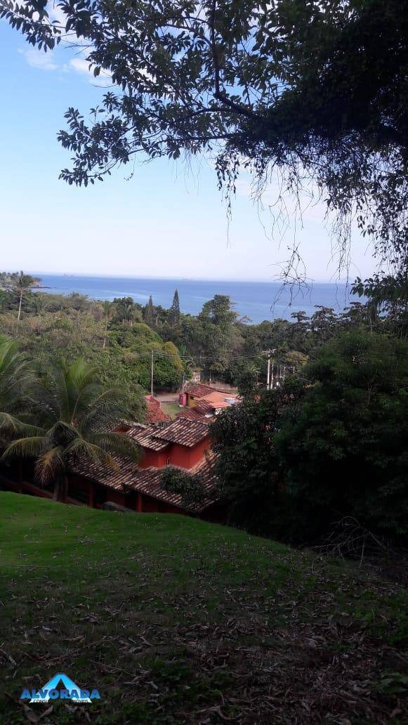 terreno com vista para o mar. na praia do curral, ilhabela. á 200m da praia - te0659
