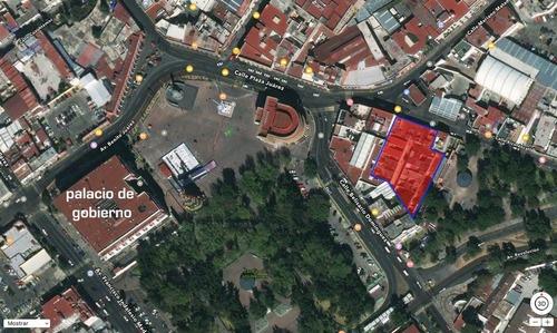 terreno comercial a proximidad palacio gobierno en pachuca, hidalgo.