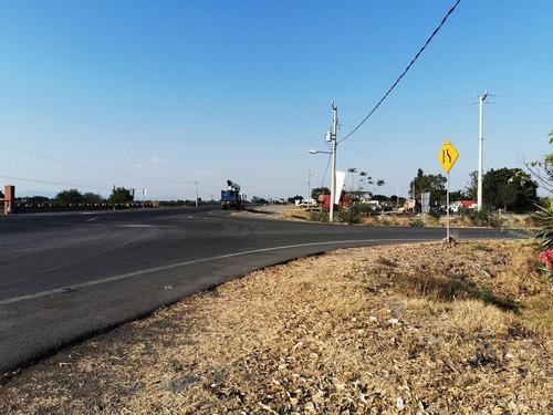 terreno comercial, carretera sahuayo la barca en esquina camino a pajacuaran, 973.31, en cumatillo michoacan