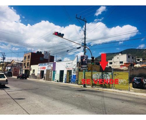 terreno comercial centrico en  pachuca