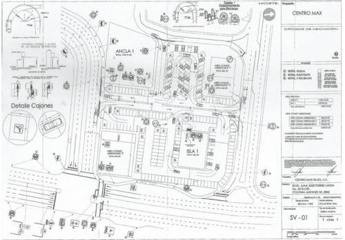 terreno comercial, centro max, oportunidad 1785 m2 mas indiv