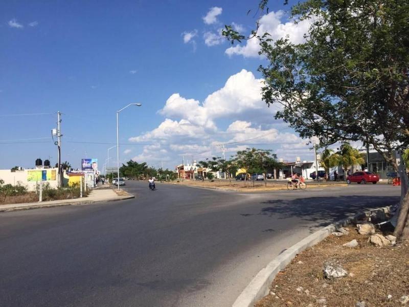 terreno comercial en avenida en venta en mérida,yucatán,cd caucel