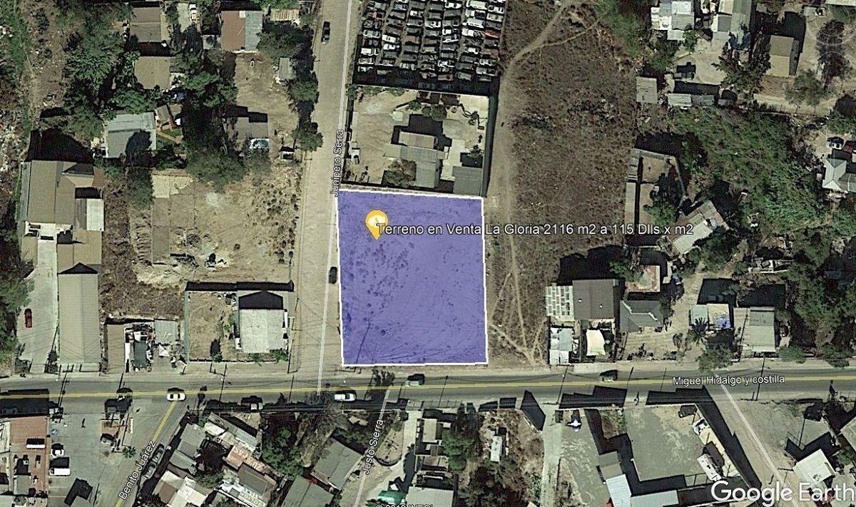 terreno comercial en esquina la gloria tijuana