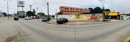terreno comercial en renta, col. unidad nacional, ciudad madero, tamps.