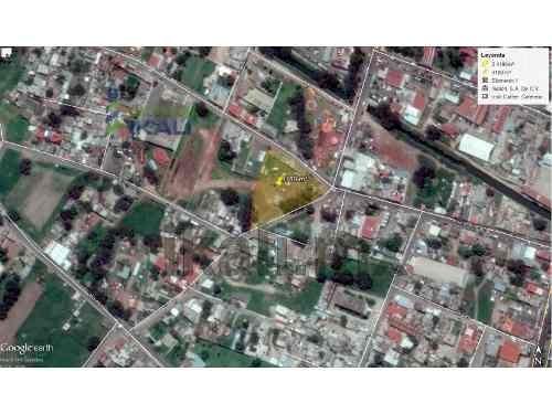 terreno comercial en renta tizayuca hidalgo centro, 4,189 m² con 180 m de frente a las calles principales, junto a la presidencia municipal y catedral ideal para negocios anclas, bancos, cines y supe