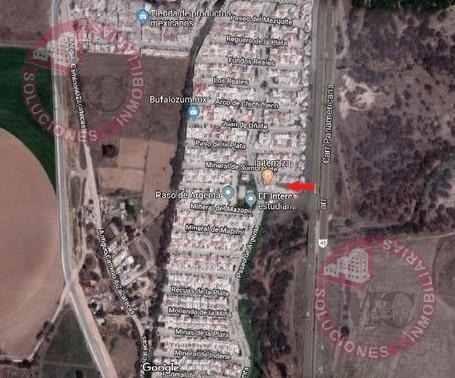 terreno comercial en venta al norte de aguascalientes, paso de argenta