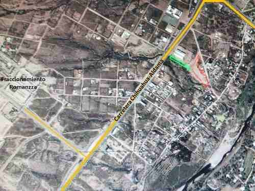 terreno comercial en venta, carretera chihuahua-aldama