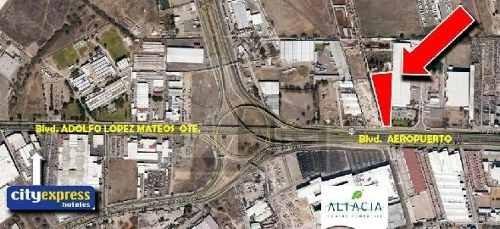 terreno comercial en venta frente plaza altacia predio santa julia de jerez blvd. aeropuerto leon