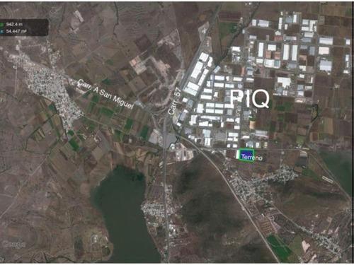 terreno comercial en venta junto a parque industrial queretaro