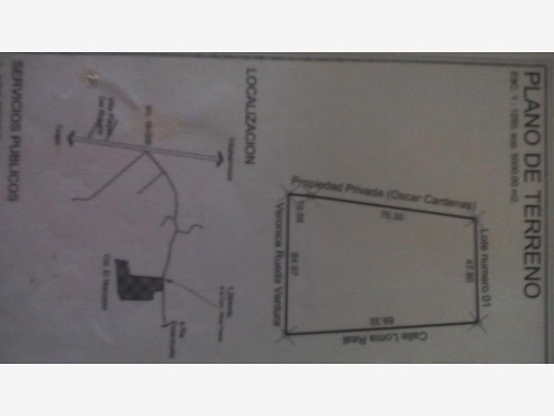 terreno comercial en venta la parrilla 2da secc (la lima)
