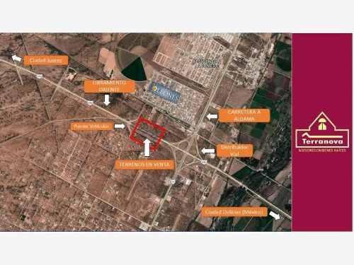 terreno comercial en venta libramiento oriente a 500 mts de carretera a aldama