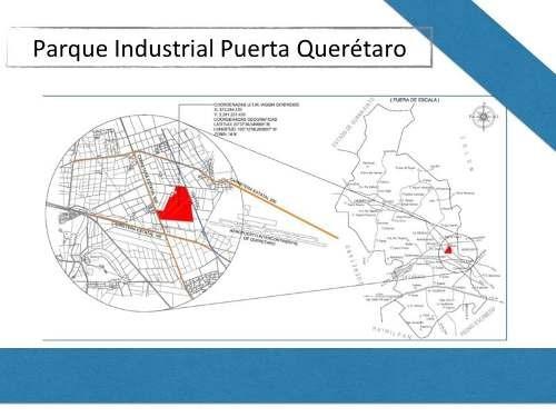 terreno comercial en venta parque industrial puerta queretaro