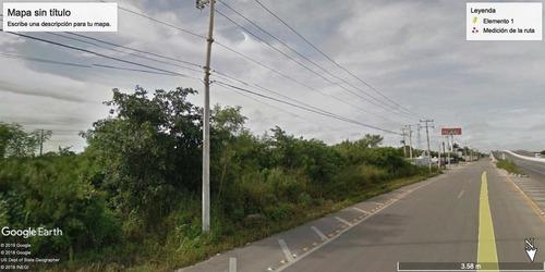 terreno comercial en venta sobre la carretera conkal-motul,mérida,yucatán