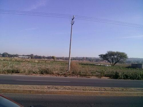 terreno comercial en zumpango de ocampo, carretera los reyes