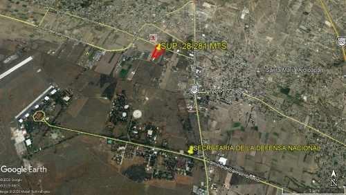 terreno comercial entrada reyes acozac sup. 28,281 mts