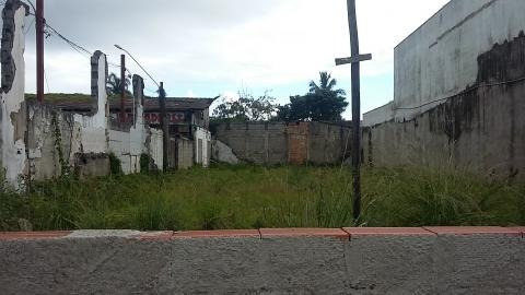 terreno comercial na praia do sonho, em itanhaém - ref 2742
