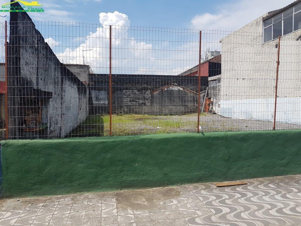 terreno comercial no centro do boqueirão, 288 m², confira na imobiliária em praia grande. - mp11709