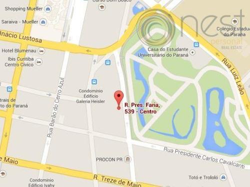 terreno comercial para locação, centro, curitiba - te0018. - te0018