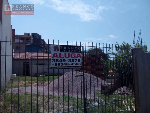 terreno comercial para locação, loteamento residencial ana carolina ii , valinhos. - te0052