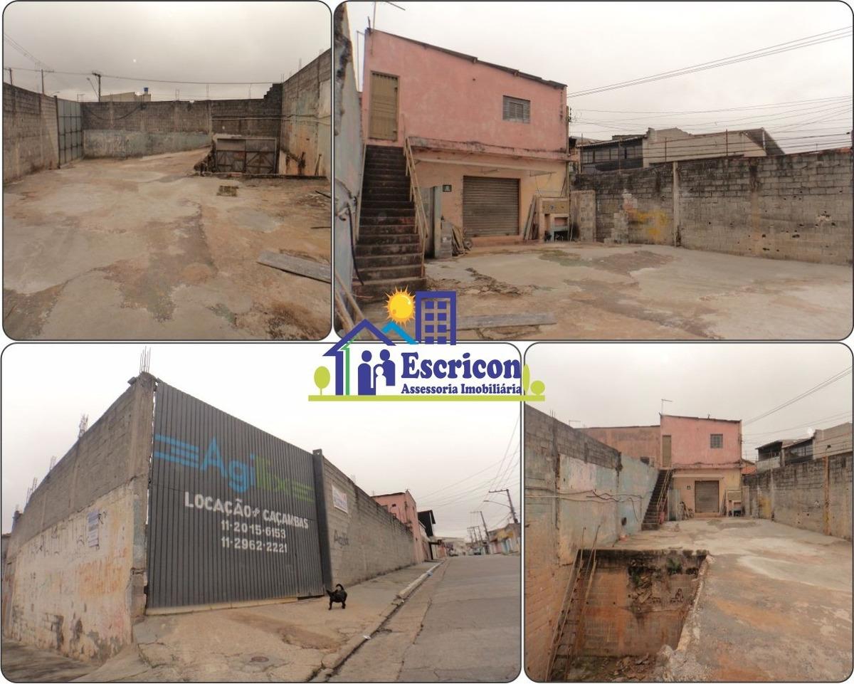 terreno comercial para locação, região de são mateus zona leste da grande são paulo. - 963 - 34889793