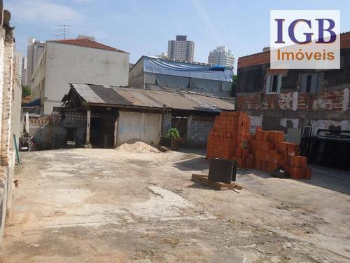 terreno comercial para locação, santana, são paulo - te0052. - te0052